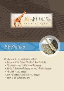 ME-METALS& ME-Plating
