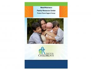 MeadWestvaco Family Resource Center. Patient-Parent Support Groups