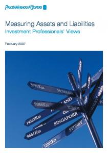 Measuring Assets and Liabilities