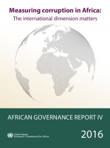 Measuring corruption in Africa: