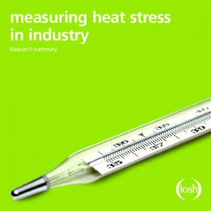 measuring heat stress in industry Research summary