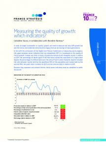 Measuring the quality of growth: which indicators?