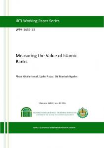 Measuring the Value of Islamic Banks