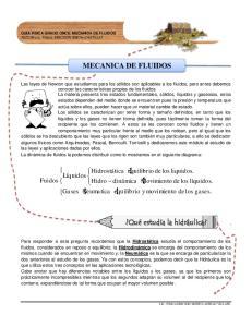 MECANICA DE FLUIDOS. Qué estudia la hidráulica?. Líquidos. Fuidos