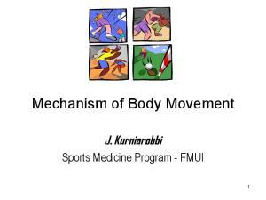 Mechanism of Body Movement