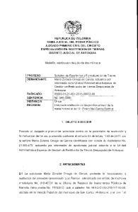 Medellín, veinticuatro de julio de dos mil trece