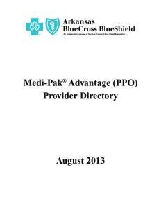 Medi-Pak Advantage (PPO) Provider Directory
