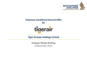 Media Briefing 6 November 2015