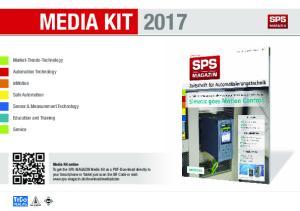 MEDIA KIT 2017 Media Kit online
