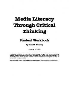 Media Literacy Through Critical