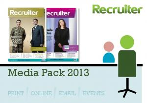 Media Pack 2013 PRINT ONLINE  EVENTS