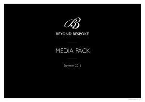 MEDIA PACK. Summer Media Pack Spring V1.2