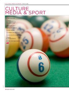 MEDIA & SPORT CULTURE, MEDIA & SPORT FEATURE