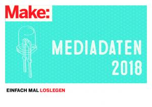 Mediadaten 2018 EINFACH MAL LOSLEGEN
