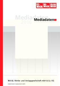 Mediadaten Mediadaten