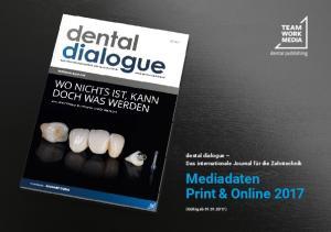 Mediadaten Print & Online 2017