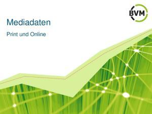 Mediadaten. Print und Online