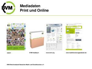 Mediadaten Print und Online