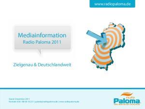 Mediainformation Radio Paloma 2011