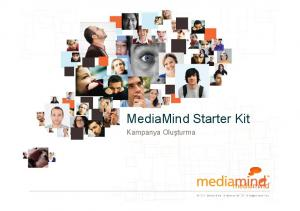 MediaMind Starter Kit