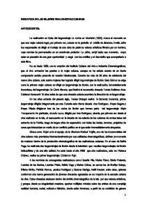 MEDIATECA DE LAS MUJERES REALIZADORAS CUBANAS ANTECEDENTES