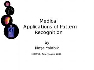 Medical Applications of Pattern Recognition