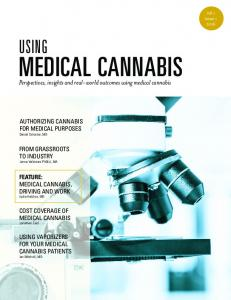 MEDICAL CANNABIS USING. Perspectives, insights and real-world outcomes using medical cannabis