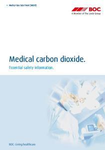 Medical carbon dioxide