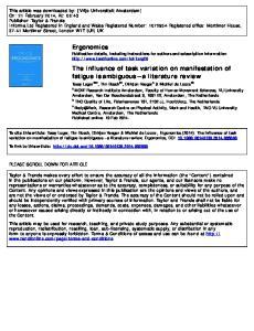 Medical Centre, Amsterdam, The Netherlands Published online: 19 Feb 2014