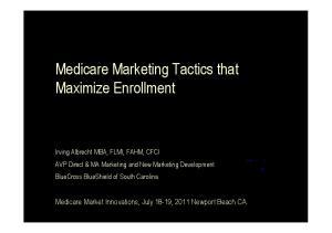 Medicare Marketing Tactics that Maximize Enrollment