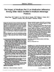 Medicare Part D, which offers prescription drug coverage