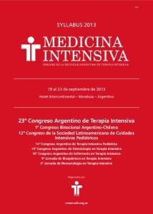 MEDICINA INTENSIVA ÓRGANO DE LA SOCIEDAD ARGENTINA DE TERAPIA INTENSIVA