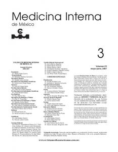 Medicina Interna COMISIONES ESPECIALES