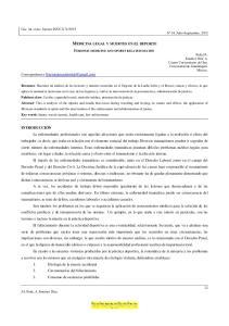 MEDICINA LEGAL Y MUERTES EN EL DEPORTE