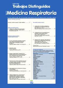Medicina Respiratoria