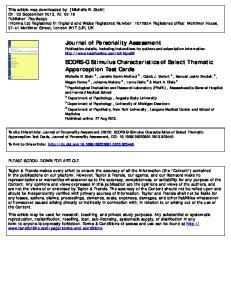 Medicine Published online: 27 Aug 2013