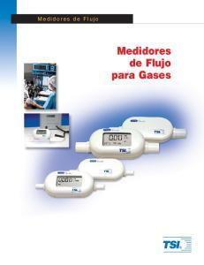 Medidores de Flujo. Medidores de Flujo para Gases