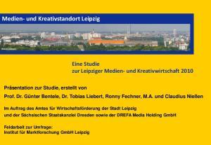 Medien- und Kreativstandort Leipzig