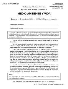 MEDIO AMBIENTE Y VIDA