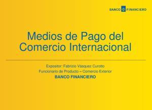 Medios de Pago del Comercio Internacional