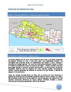 Medios de vida en El Salvador