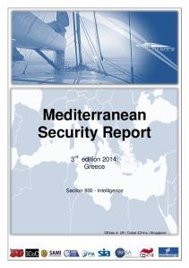 Mediterranean Security Report