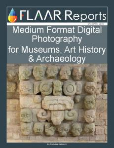 Medium Format Digital Photography for Museums, Art History & Archaeology