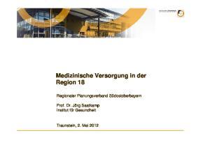 Medizinische Versorgung in der Region 18