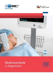 Medizintechnik in Argentinien