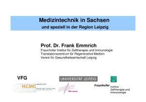 Medizintechnik in Sachsen