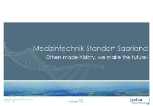Medizintechnik Standort Saarland