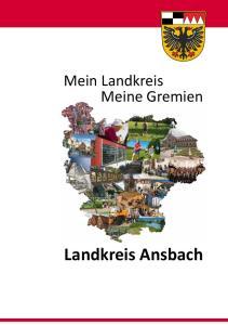 Mein Landkreis Meine Gremien. Landkreis Ansbach