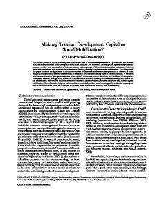 Mekong Tourism Development: Capital or Social Mobilization?