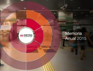 Memoria Anual Memoria Anual 2015